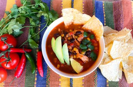 Soupe de Poulet Tex-Mex