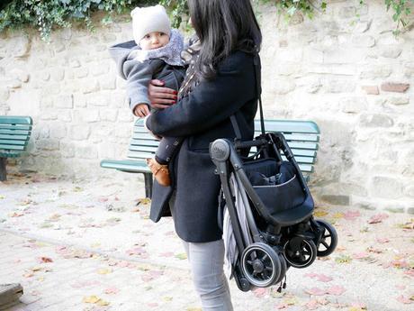Instant de maman #14: coup de coeur pour la poussette pact lite de Joie
