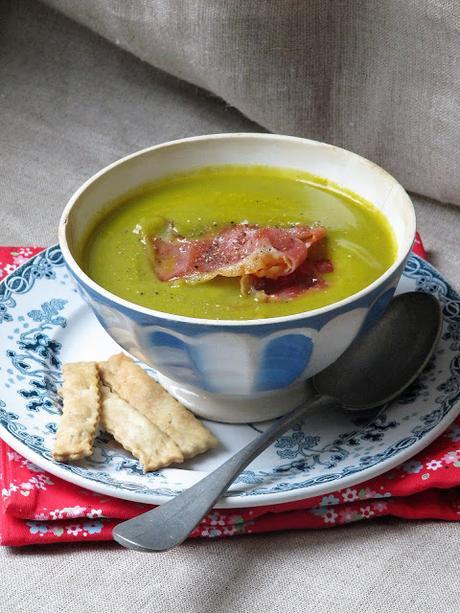 Soupe à la jardinière de légumes & lingue