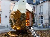 Paris sauna Solar s'installe dans jardin l'Institut suédois