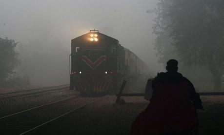 Les photos de New Delhi sous un épais nuage de pollution