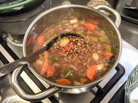Par ici la bonne soupe ! – Soupe de lentilles vertes