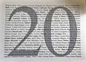 Galerie LA CAPITALE    20 Ans……………………………………..5 Décembre 2017 au 6 Janvier 2018