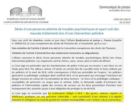 #violencespolicieres : une triste confirmation par la #CEDH alt=