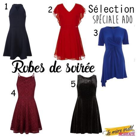 Sélection spéciale Ado : 5 robes de soirées pour jolies demoiselles