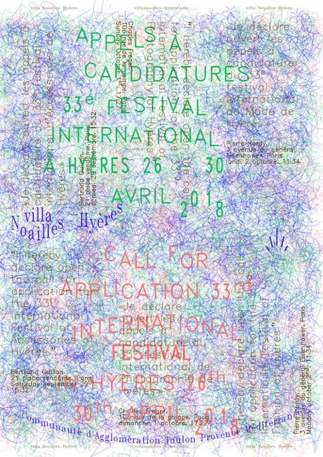 [APPEL A CANDIDATURE] : 33ème festival international de mode et de photographie à Hyères