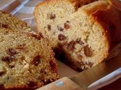 Cake vanillé Raisins Rhum (Vegan)