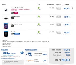 Bon Plan – Casque Playstation VR + PS Caméra + VR Worlds + Skyrim VR à 299.99€