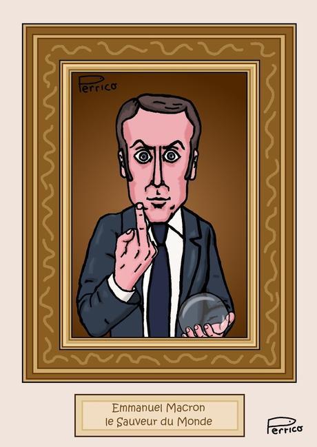 Emmanuel Macron, est-il le nouveau sauveur du monde ?