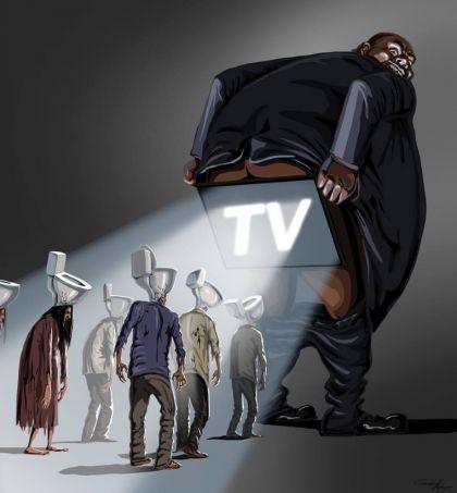 Illustrations satiriques de Gunduz Aghayev