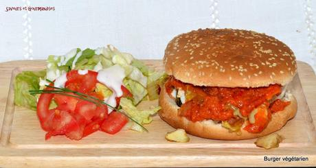 Burger végétarien.