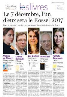 La sélection du Prix Rossel