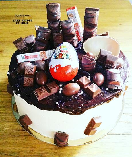 Layer Cake gourmand Kinder