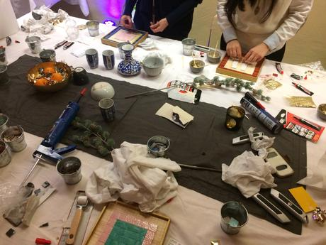 DIY de nöel : couronne, centres de table…