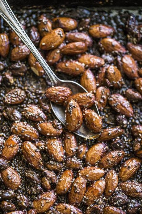 Nuts snacks.