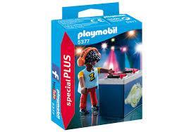 Playmobil DJ noir