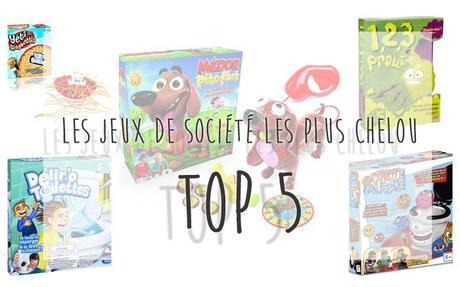 """Top 5 des jeux de société """"chelou"""" pour enfants"""