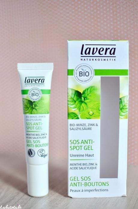 ( LAVERA )Lavera-té si je menthe → deux produits bio pour peaux pourries !
