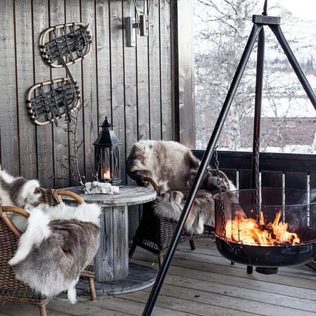 {Equipement et déco} Profiter de sa terrasse en hiver