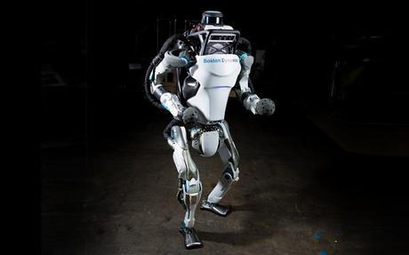 ATLAS : le robot capable de faire des saltos arrière