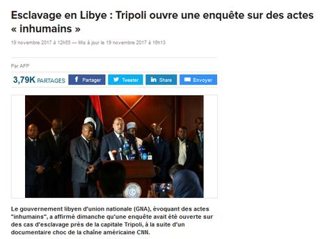 Esclavage en #Libye : qui ne dit mot consent (gentils castors, où êtes vous ?)