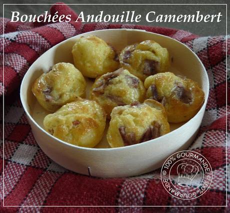 Bouchées Andouille Camembert