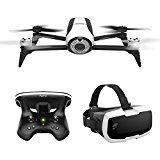 Parrot - Pack Drone Quadricoptère Bebop 2 + Lunette FPV + Skycontroller 2 - Blanc