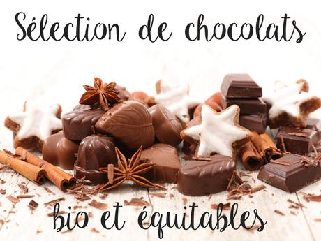 Ma sélection de chocolat bio pour Noël