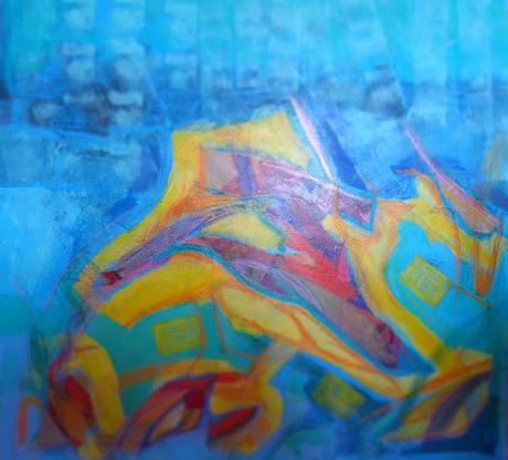 deux nouvelles oeuvres By Senaq Acrylique et craies