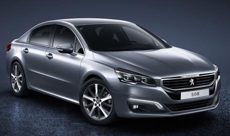 Peugeot prépare la 508 (2) pour 2018