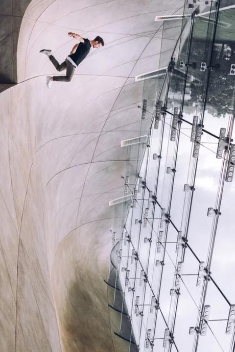 Ce photographe réalise d'étonnantes illusions d'optique
