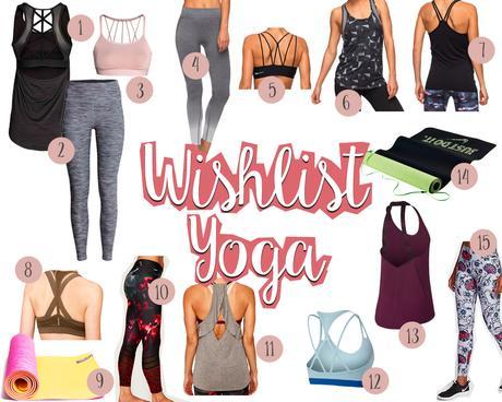 Ma Wishlist Yoga pour Noël !