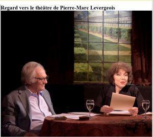 Regard vers le Théâtre de Pierre-Marc Levergeois   22 Novembre 2017