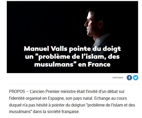 #SUD : ne pas perdre le Nord (#républicanistes contre #multicultis : qui va gagner la guerre ?) #Valls #Blanquer #antifa