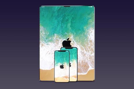 iPad : des tablettes Apple avec Face ID et sans bouton Home en 2018 ?
