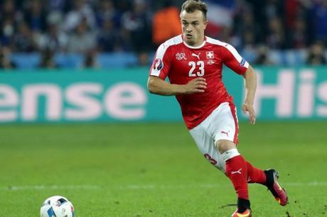 Shaqiri coupe du monde 2018 avec la Suisse