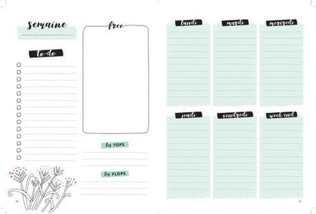 Bullet Journal : comment faire quand on n'est pas créative ?
