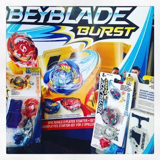 Beyblade Burst, ça tourne ! (Noël 2017)