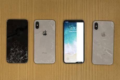 L'iPhone X résiste finalement mal, voire très mal aux tests de fragilité