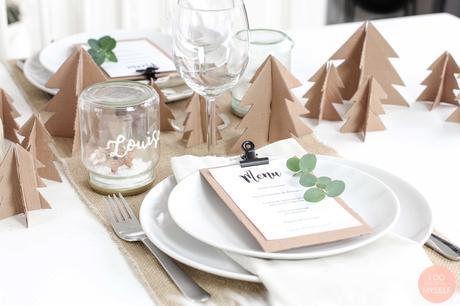DIY 71 – Table de Noël
