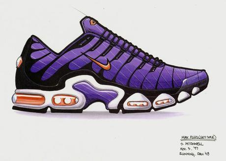 Nike Air Max Plus original sketche