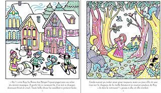 [Chronique jeunesse] Livre peinture magique : La Reine des Neiges