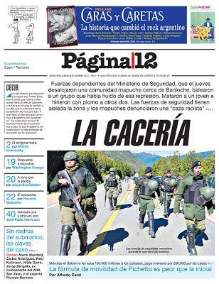 La gâchette facile des forces de l'ordre: une fin d'année catastrophique en Argentine [Actu]