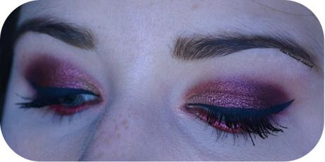 Cranberry Smokey Eye {Jaclyn Hill x Morphe}