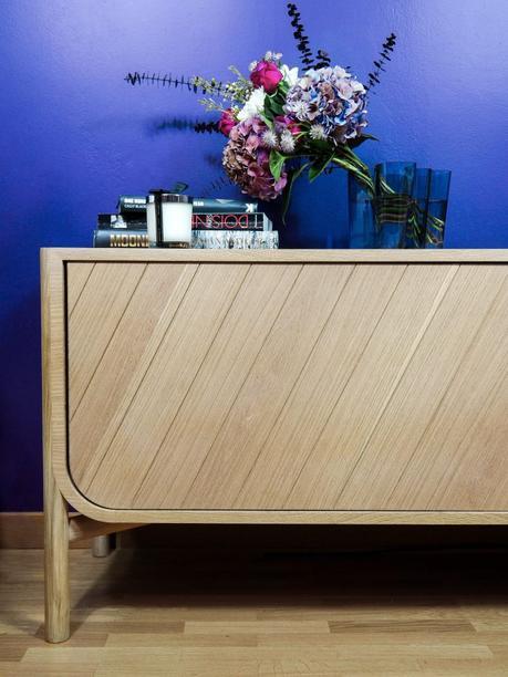 Hartô Marius Pierre-Francois dubois clem around the corner salon mur bleu parquet chene