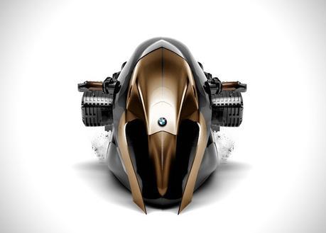 Découvrez la moto futuriste de BMW, la R1100R «KHAN»