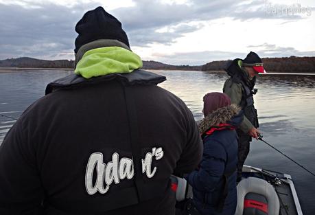 Week-end Autain Pêche à Vassivière