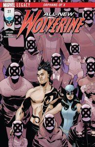 Titres Marvel Comics sortis le 22 novembre 2017