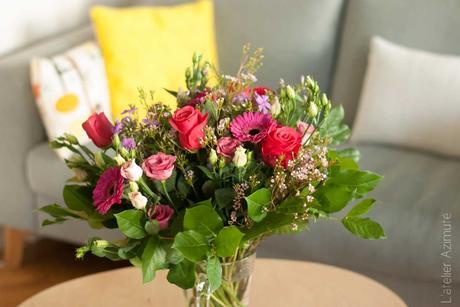 {Décoration} Mon salon redécoré et sublimé par des fleurs