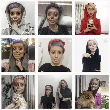 Sahar Tabar voulait ressembler à Angelina Jolie
